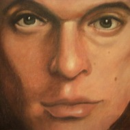 David Lee Roth. Oil on Canvas. 2007.