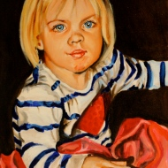 Louisa (Commission). Oil on Canvas. 2011.